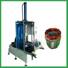 Automatic single phase induction coil shaping machine