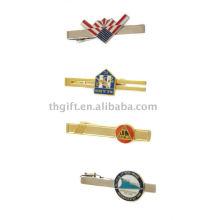 Vários tipos de clipes de laço de metal com imitação de esmalte