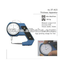 Medidor de espesor de la lente óptica