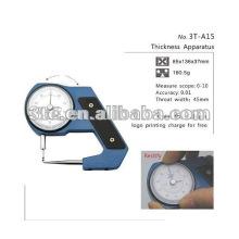 Medidor de espessura da lente óptica