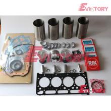 Excavadora V2203 junta del motor rodamiento anillo de pistón revestimiento