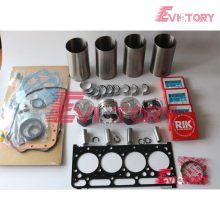 excavator V2203 engine gasket bearing piston ring liner