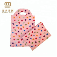 Supply printed Biodegradable gift plastic bag