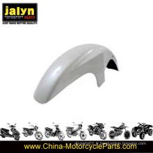 L'antiparasitage avant peint en blanc à moto ABS s'adapte à Ybr125