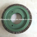 Grey Colour Bristle Textile Round Brush for Lk (YY-404)