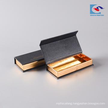 Custom mink eye lash magnetic book display custom logo packaging box