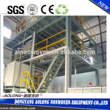 AL-2400S 2.4m single beam PP spunbond non woven fabric making machine for shopping bags , shoes bags