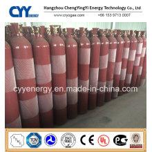 Cylindre de gaz de dioxyde de carbone à haute pression et à haute pression à haute pression