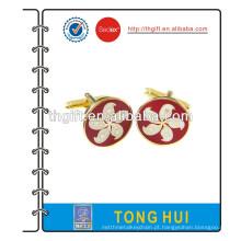 Gemelos metálicos com logotipo de Hong Kong