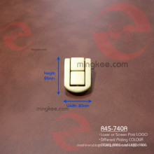 Custom Laser Logo on Jewelry Box Lock