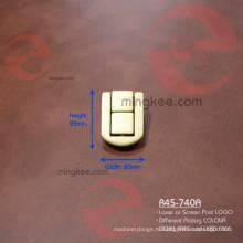 Таможенный лазерный логотип на замке шкатулки