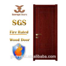 Alta qualidade BS476 sound proof fire rating porta de madeira
