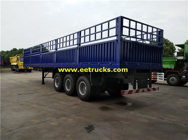 Box Van Semi Trailer