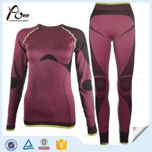 Sous-vêtements thermiques personnalisés sans soudure Long Johns