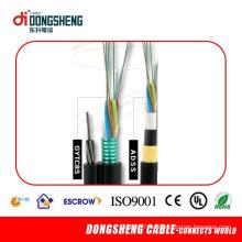 Cable de desconexión FTTH de fibra óptica al aire libre de 2 núcleos