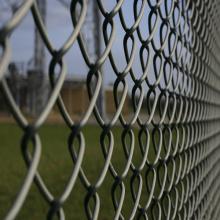 PVC Revestido Chain Link Fence / Esportes Campo de Esgrima (Yunde fábrica)
