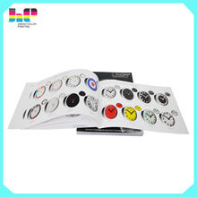 all types of catologue customized made in shenzhen china whosale printing