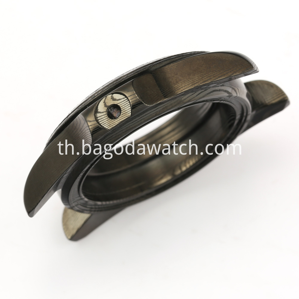 Damascus Steel Watches Case