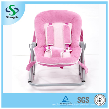 Comfortable Plush Bouncer Safety Baby Rocker (SH-E2)