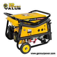 Power Value Top Quality 5000W Gasoline Generator Fireman with OEM Service