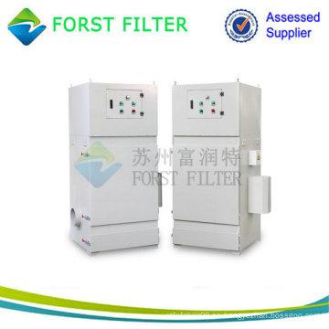 Extractor de polvo de vacío de cartucho de filtro