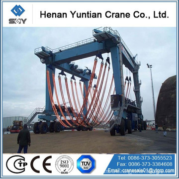 Rubber Tyre lifting boat cranes price, gantry cranes Morequestions,pleasesendmessagetome!