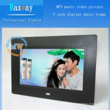 optional infrared scanning 7 inch digital photo frame