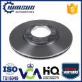 E7GZ1125B B10733251 4 Hole Japaness Car Ventilated Brake Disc 238mm