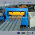 GI floor desk roll forming machine