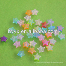 Transparent Loose Jewelry Star Beads