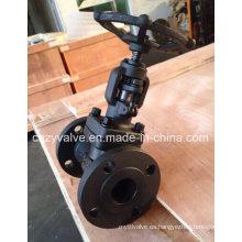 API602 Clase150 Válvula Globe de brida de alta calidad