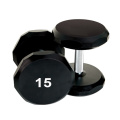 15 LB Urethane Hex Dumbbell