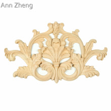 Embossed Flower Design overlays wood appliques