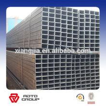 Tuyaux carrés sans couture galvanisés / pré-galvanisés d'acier inoxydable à prix usine pour la construction de bâtiments