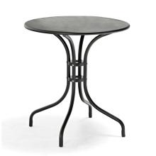 DECOR hot selling steel frame outdoor garden furniture starbuck bistro table