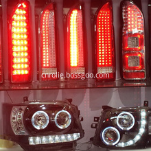 Toyota Hiace commuter van rear double light source led tail lamps lights parts accessories