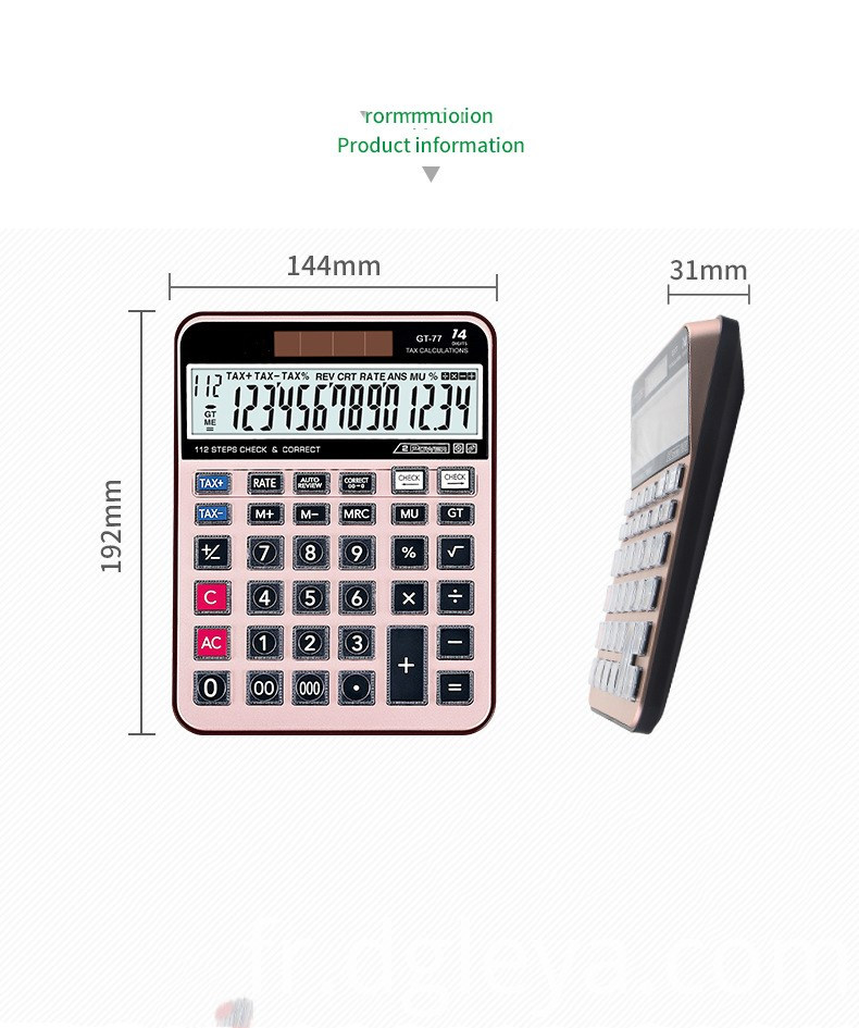 14 Digits desktop Electronic calculator