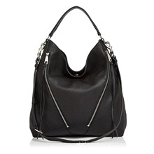 Detachable Adjustable Crossbody Strap Moto Leather Bag