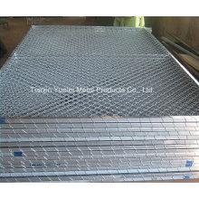 Hochwertige Bügeleisen-Pool-Fechten / geschweißte Paneel-Fechten / Heiß getaucht Galvanisierte Stahl-Zäune