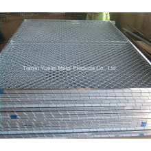 Clôture de clôture soudée de clôture / clôture soudée de grille de fer de fer de haute qualité / clôture en acier galvanisé à chaud