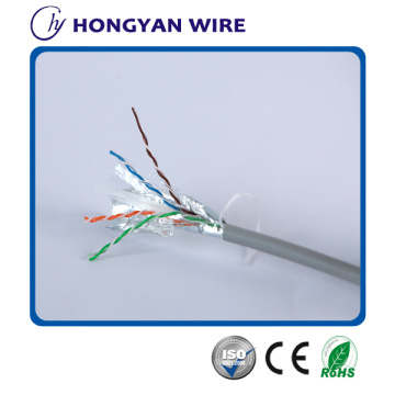 Cable apantallado simple Cat 6 FTP