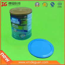 Usual Fixed Size in Use of Milk Powder Cans Plastic Lid