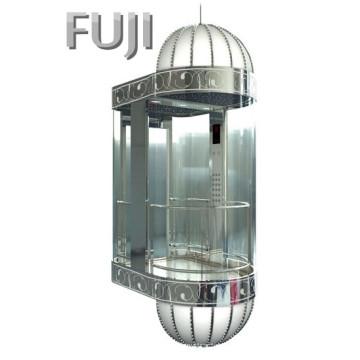 Observación de vidrio transparente Ascensor