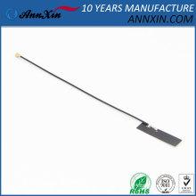 Melhor venda U.fl wi-fi interno (2.4 ghz) antena pcb, 1.13mm (D) cabo construído em remendo antena wi-fi