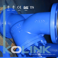 Cast Steel Y Strainer Flange End