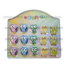Distributor Metal Display Owl Magnet