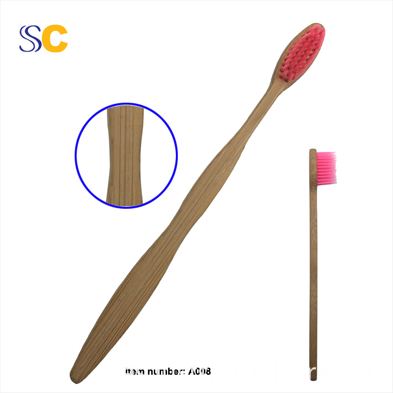 Bamboo Charcoal Toothbrush A008 1