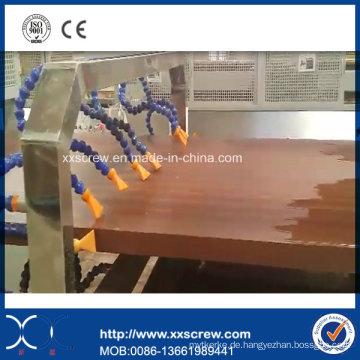 WPC PVC PP / PE Profil / Bodenplatte / Windows Extrusionslinie