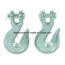 Drop Forged Lifting Alloy Steel Clevis Slip Hook for China