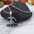 Hiphop Punk Sports Surfing Beach Surfboard Necklace